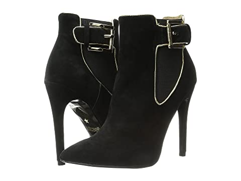 Just Cavalli High Heel Ankle Boot w/ Piping suwird8LaX