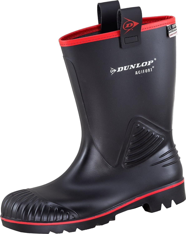 Dunlop Men's Boots Black Black