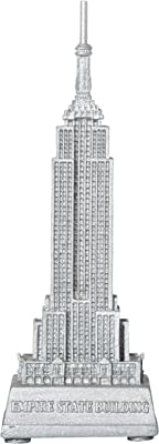 Empire State Building w// Wood Base Souvenir from NYC Online Gift Store 6.75 In