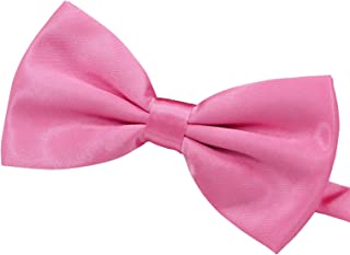 Amajiji Formal Dog Bow Ties for Medium & Large Dogs (D115 100% Polyester)