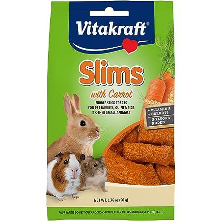 Vitakraft Pet Rabbit Slims with Carrot - Nibble Stick Treat