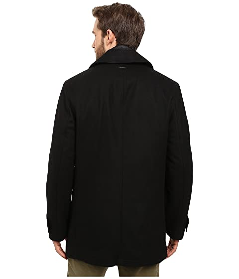 Andrew Quilted Marc w Removable Peacoat Wool Cushing by Marc York Bib New Pressed fwwPqHtU
