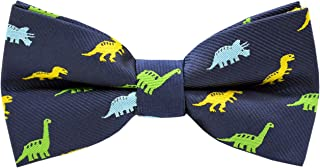 Carahere Boys Bow Ties Handmade Adjustable Pre-Tied Pattern Bow Ties For Kids