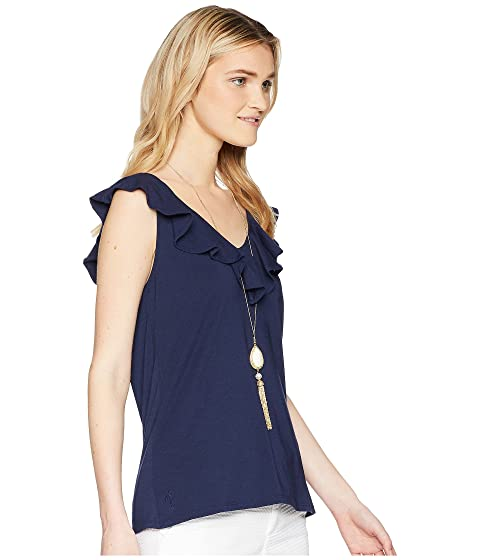 Alessa Navy True Pulitzer Lilly Top 5qnxAwHw0