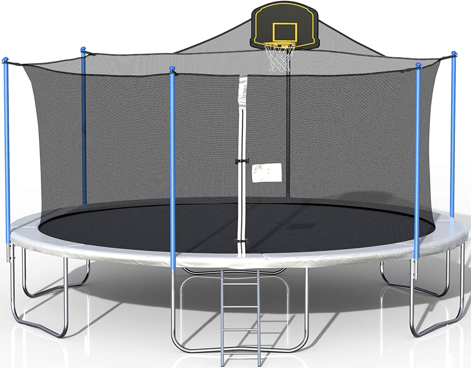 16FT Trampoline for Kids 感謝価格 Adults and バーゲンセール with Basketball