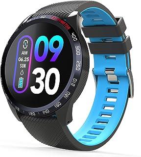 comprar comparacion novasmart - Reloj inteligente runR IV con correa inteligente y pantalla en color, con registro de frecuencia cardíaca y pr...