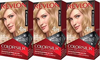 Revlon Colorsilk Beautiful Color, Warm Golden Blonde, 3 Count