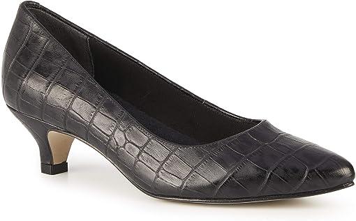 Black Dressy Croco