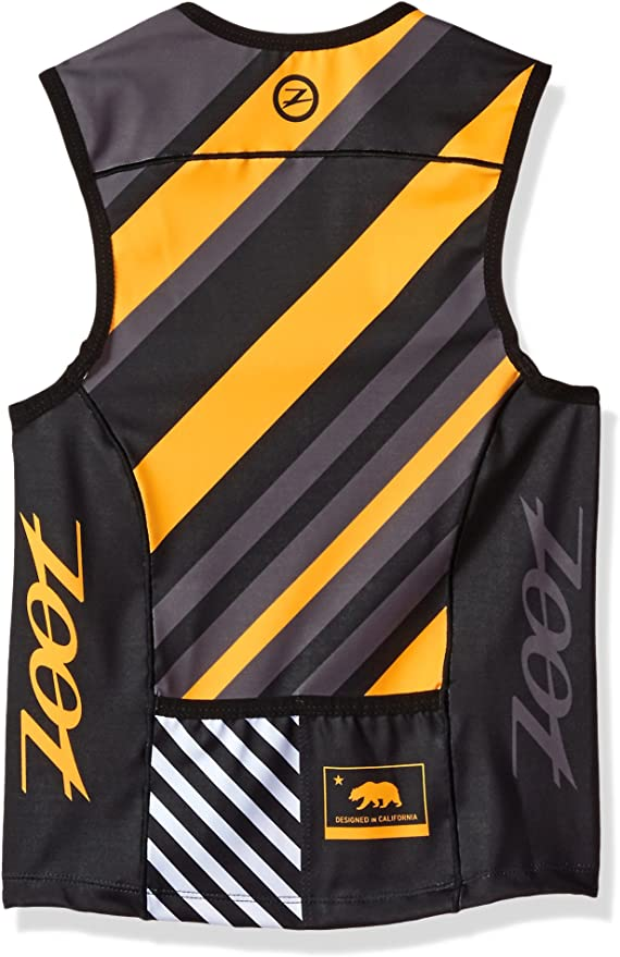 Chevron Stripe Zoot Sports Unisex Sports Protege Tri Top Large