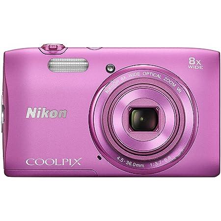 Nikon デジタルカメラ COOLPIX S3600 8倍ズーム 2005万画素 アザレアピンク S3600PK