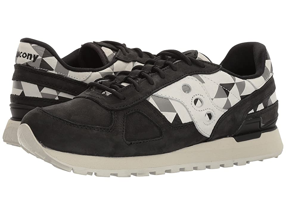 Saucony Originals Shadow O School Spirit (Black/Grey) Men