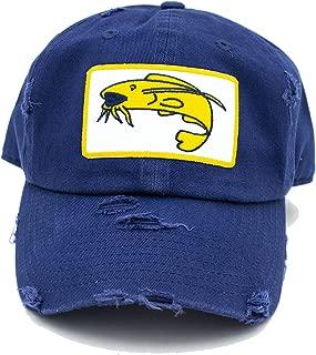 Navy Catfish Patch Hat