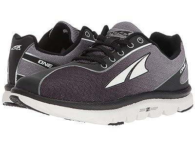 Altra Footwear One Jr (Big Kids) (Black) Athletic Shoes