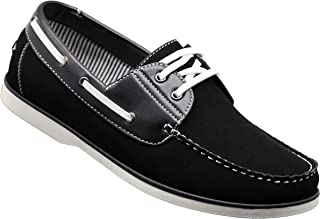 Enzo Romeo Mens Boat Shoes