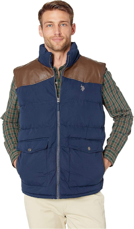 U.S. Polo 人気ブランド Assn. Men's 祝日 Signature Vest