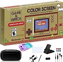 Nintendo Game & Watch: Super Mario Bros – Tela LCD colorida de 2,3 polegadas – Relógio de jogo de Natal em família para o ...