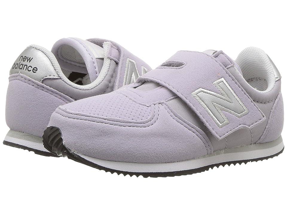 New Balance Kids KV220v1I (Infant/Toddler) (Purple/Silver) Girls Shoes