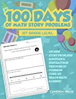 100 Days of Addition & Subtraction Story Problems Worksheets | Numbers 0-20 | Grades 1-2 | No Preparation Packet |...