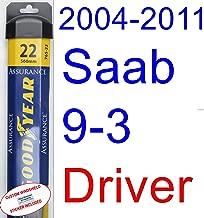 2004-2011 Saab 9-3 Wiper Blade (Driver) (Goodyear Wiper Blades-Assurance) (2005,2006,2007,2008,2009,2010)