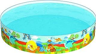 بركة سباحة المرح دائري للاطفال ، متعدد الالوان ، 55001