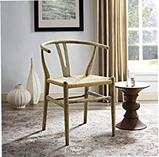 Mоdwаy Amish Dining Wood Side Chair Weathered Gray