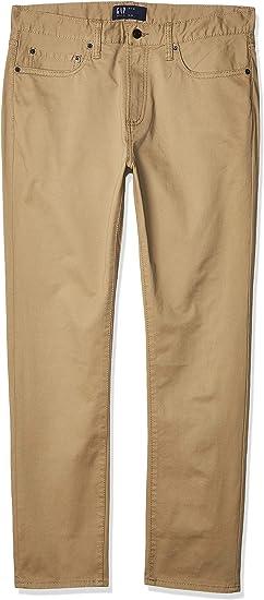 Gap Jeans Pantalon Mezclilla Slim Stretch 338343 Para Hombre Amazon Com Mx Ropa Zapatos Y Accesorios