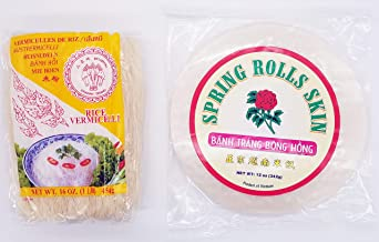 Erawan Ricestick Vermicelli and Spring Roll Skin Combination Pack