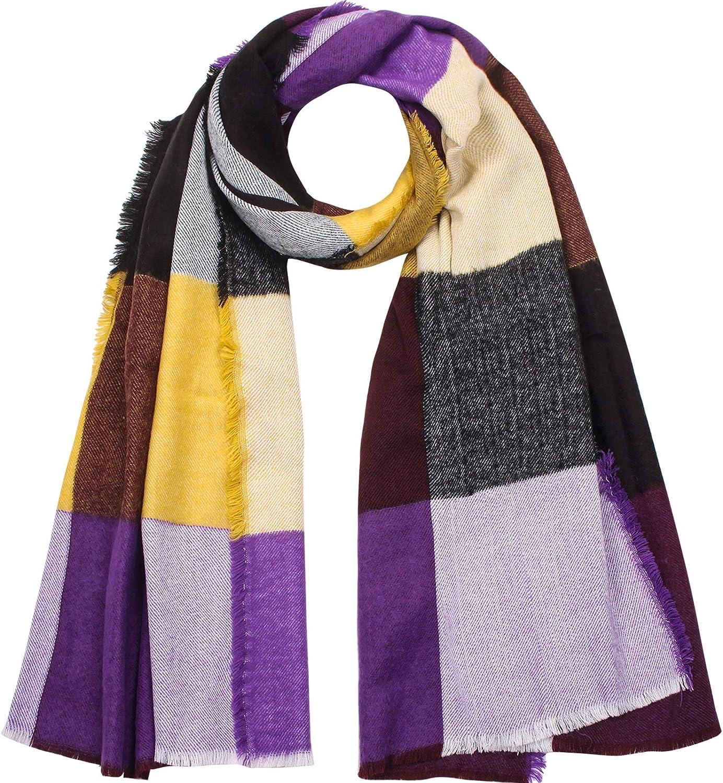 UNDER ZERO Winter Brand Cheap Sale Venue Max 48% OFF Warm Scarf Soft Wraps Women's Long Fashion Pur
