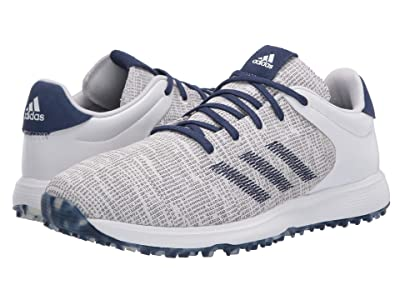 adidas Golf S2G (Footwear White/Footwear White/Tech Indigo) Men