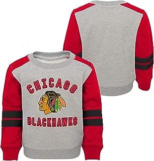 adidas Chicago Blackhawks Toddler Pullover Sweater