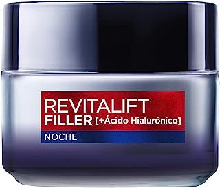 LOréal Paris Dermo Expertise - Revitalift Filler Crema Rellenadora de Noche con ácido hialurónico - 50 ml