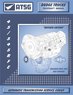 ATSG TM45RFE Technical Manual 45RFE 5-45RFE 99-17