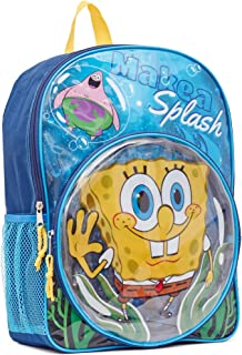 Spongebob Backpack - SpongeBob & Patrick Make A Splash 16 Kid's Backpack