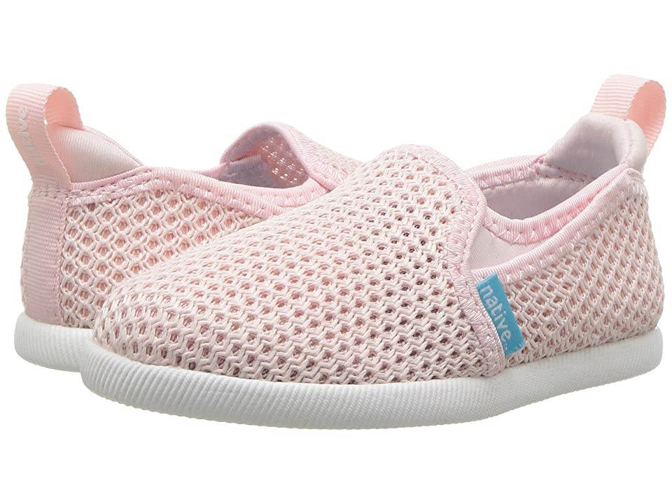 Native Kids Shoes Cruz (Toddler/Little Kid) (Milk Pink/Shell White) Girls Shoes