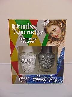 Morgan Taylor Gel de manicura y pedicura (Silver In My Stocking) - 30 ml.