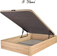 DHOME Canape Abatible Tapizado 3D 4 válvulas Maxima Calidad