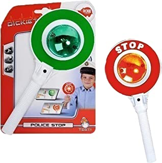 Dickie Toys Police Crossing Guard Stop Red Green Light Pretend Toy