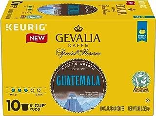 Gevalia Single Origin Guatemala Keurig K Cup Coffee Pods (10 Count)