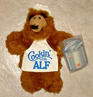 ALF PLUSH PUPPET VINTAGE EDITION 1988 COOKING WITH ALF - 11 INCHES