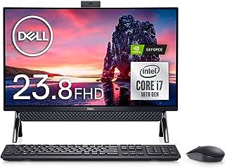 Dell デスクトップパソコン Inspiron 5490 Core i7 ブラック 20Q32/Win10/23.8FHD/8GB/512GB SSD+1TB HDD/MX110