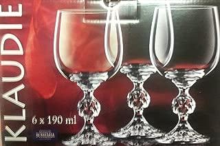 Klaudie/Wine Glasses- Crystal from Czech republic