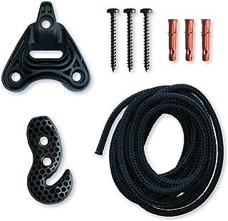LA SIESTA Universal Rope Black - Sujeción universal para sillas colgantes y hamacas nido