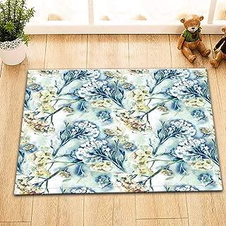 """72//79/"""" Shower Curtain Bathroom Mat Set Waterproof Fabric Decor Peacock Flower 21"""
