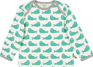 Loud + Proud Shirt Druck Aus Bio Baumwolle, Gots Zertifiziert Manches Longues, Vert (Jade Jad), 116 (Taille Fabricant: 11...