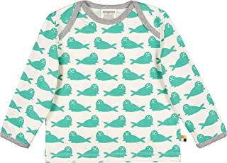 loud + proud 中性婴儿衬衫*棉印花,GOTS 认证运动衫