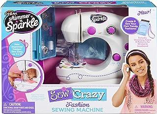 Shimmer and Sparkle 17524 Crazy - Juego de máquina de coser