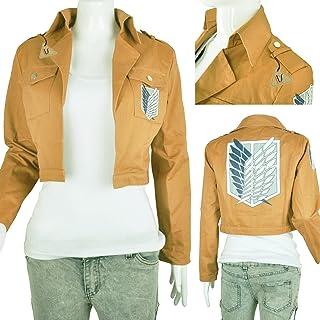 IDS Home Khaki Jacket Coat Cosplay Costumes Halloween Clothes