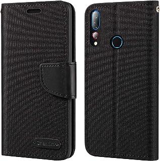 HTC Desire 19 Plus-fodral, plånboksfodral i Oxford med mjukt TPU-bakstycke magnet flip fodral för HTC Desire 19S