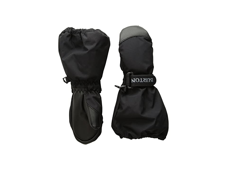 Burton Kids Minishred Heater Mitt (Toddler) (True Black) Snowboard Gloves
