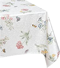 Lenox Butterfly Meadow 60-inch by 102-inch Oblong/Rectangle Tablecloth